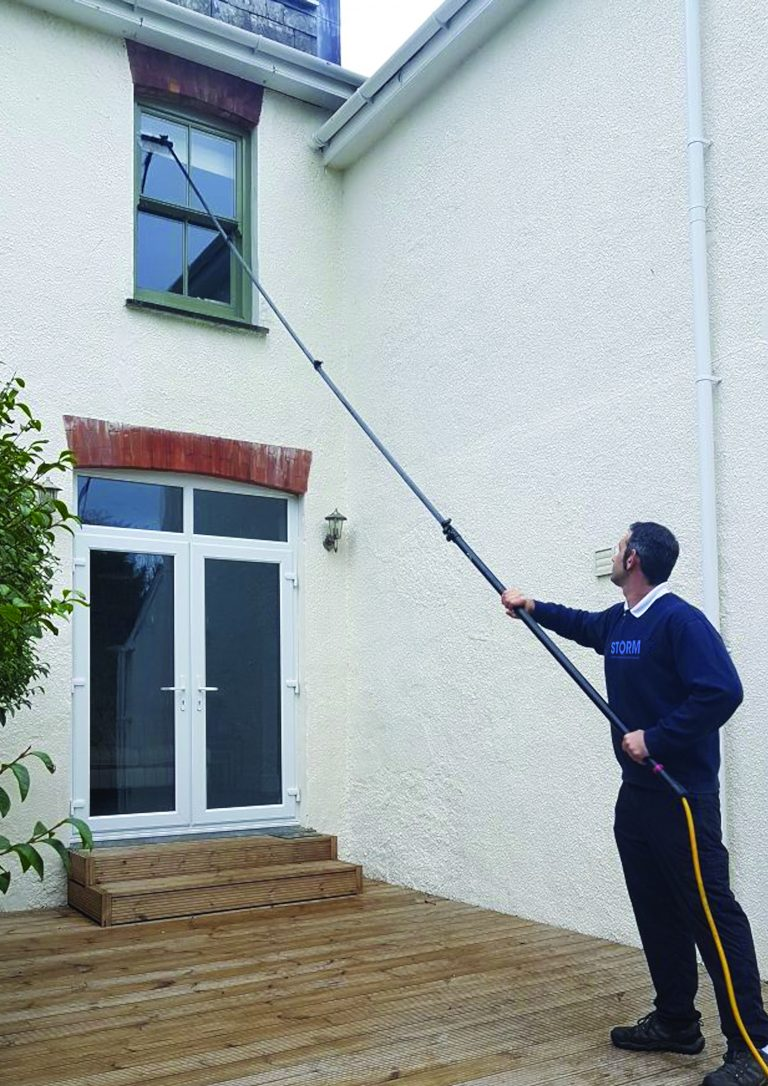 Water Fed Pole Window Cleaners