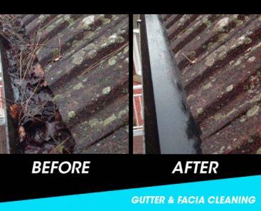 Gutter & UPVC facia cleaning Coalville & Whitwick