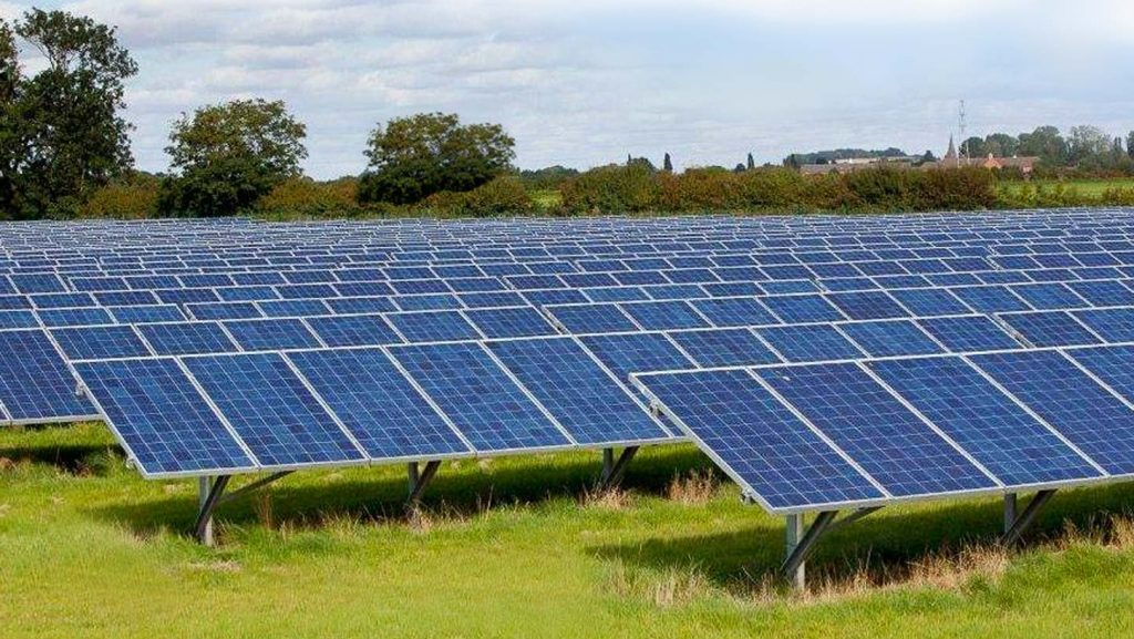 Solar Farm Panel Cleaning Ashby de la zouch Leicestershire