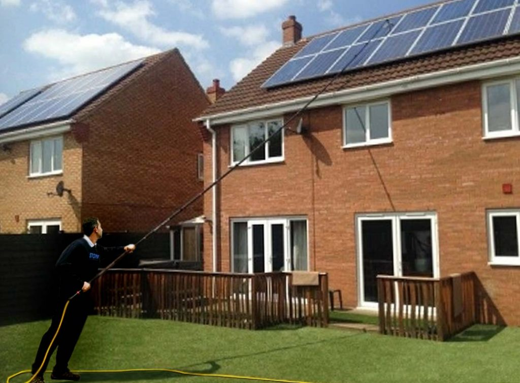Solar Panel Cleaning North West Leicestershire Ashby de la zouch