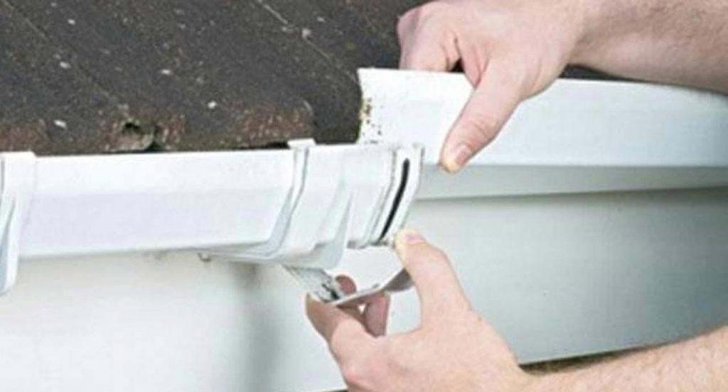 Gutter repairs in Hinckley, Burbage, Barwell & Earl Shilton