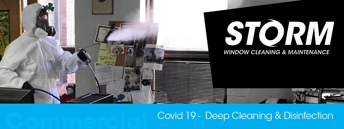 Corona virus deep cleaning office & room sanitisation & disinfection Covid-19