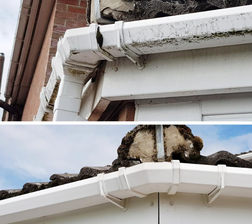UPVC fascias, soffits & gutter cleaners