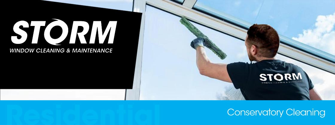 Conservatory roof cleaning Hinckley & Burbage Leicestershire