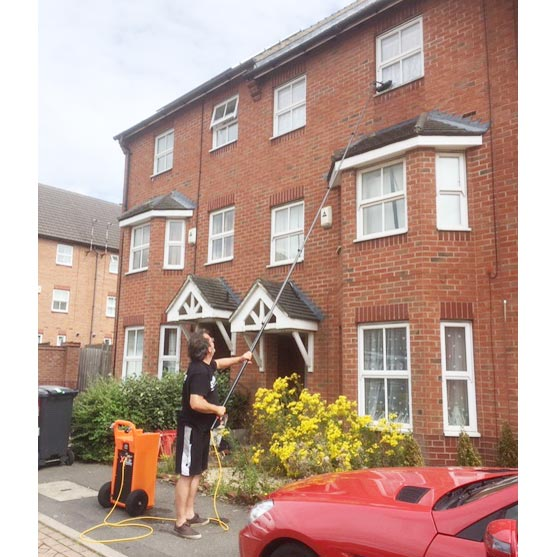 Window cleaners of houses & commercial business premises in Leicester