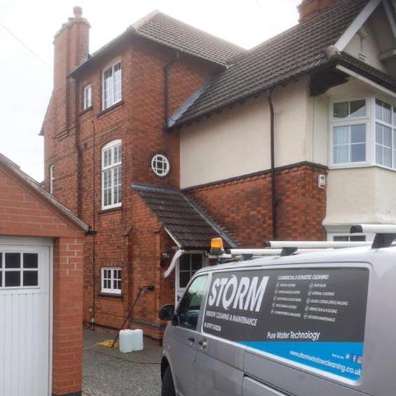 Professional & Reliable Window Cleaning Service