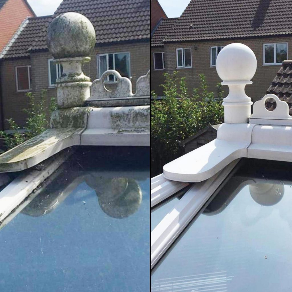 Roof cleaners Leicester. Cleaning conservatory Roofs & Cleaning Moss Away