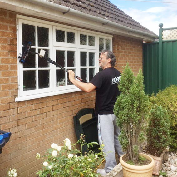 Bungalow Window Cleaning in Leicester