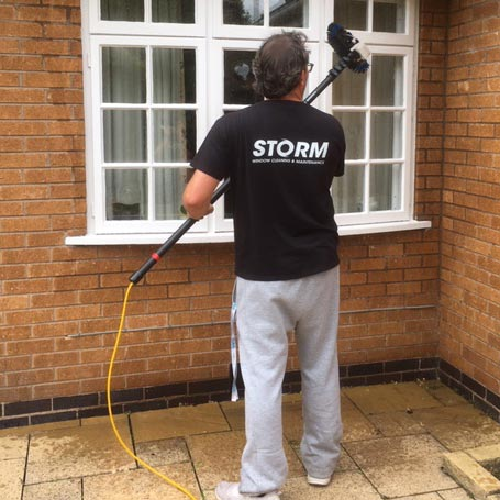 Residential Window Cleaners for Leicester.