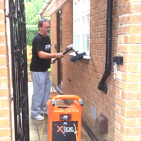 Leicester's number one window cleaning company. Professional, Reliable & Economical.