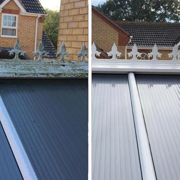 Conservatory Roof cleaning Leicester, Loughborough, Hinckley, Ashby & Leicestershire